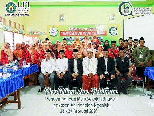 Pelaksanaan Pendidikan & Pelatihan (DIKLAT) SMP Yayasan Pupuk Kaltim di LPI Sabilillah Malang