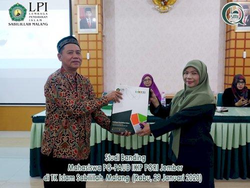 Studi Banding Mahasiwa PG-PAUD IKIP PGRI Jember