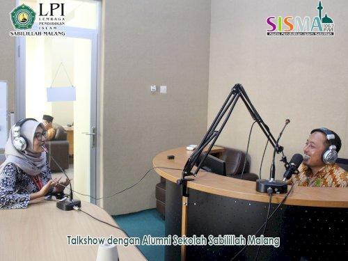 Talkshow Radio SISMA FM dengan Alumni SISMA