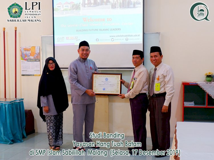 Studi Banding Yayasan Hang Tuah Batam