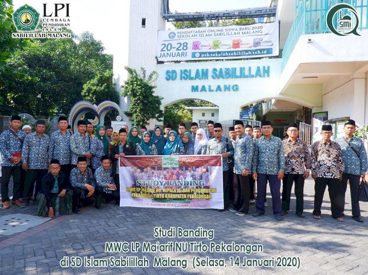 Studi Banding MWC LP Maarif NU Tirto Pekalongan