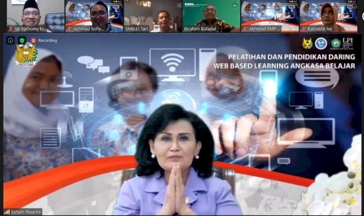 Workshop Pengembangan E-Learning Angkasa Belajar Sekolah Angkasa