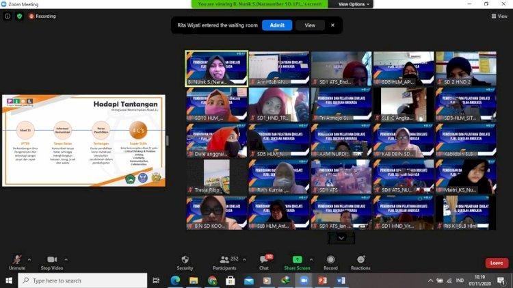 Diklat Project Based Learning (PjBL) Sekolah Angkasa 2020